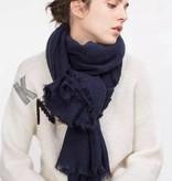 Sjaal effen diverse kleuren