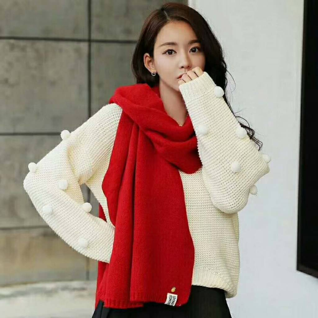 Sjaal Hug Me Gebreid