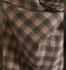 Sjaal Bloc Rozegrijs