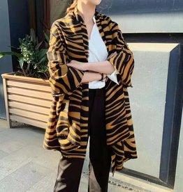 Sjaal met Tijgerprint