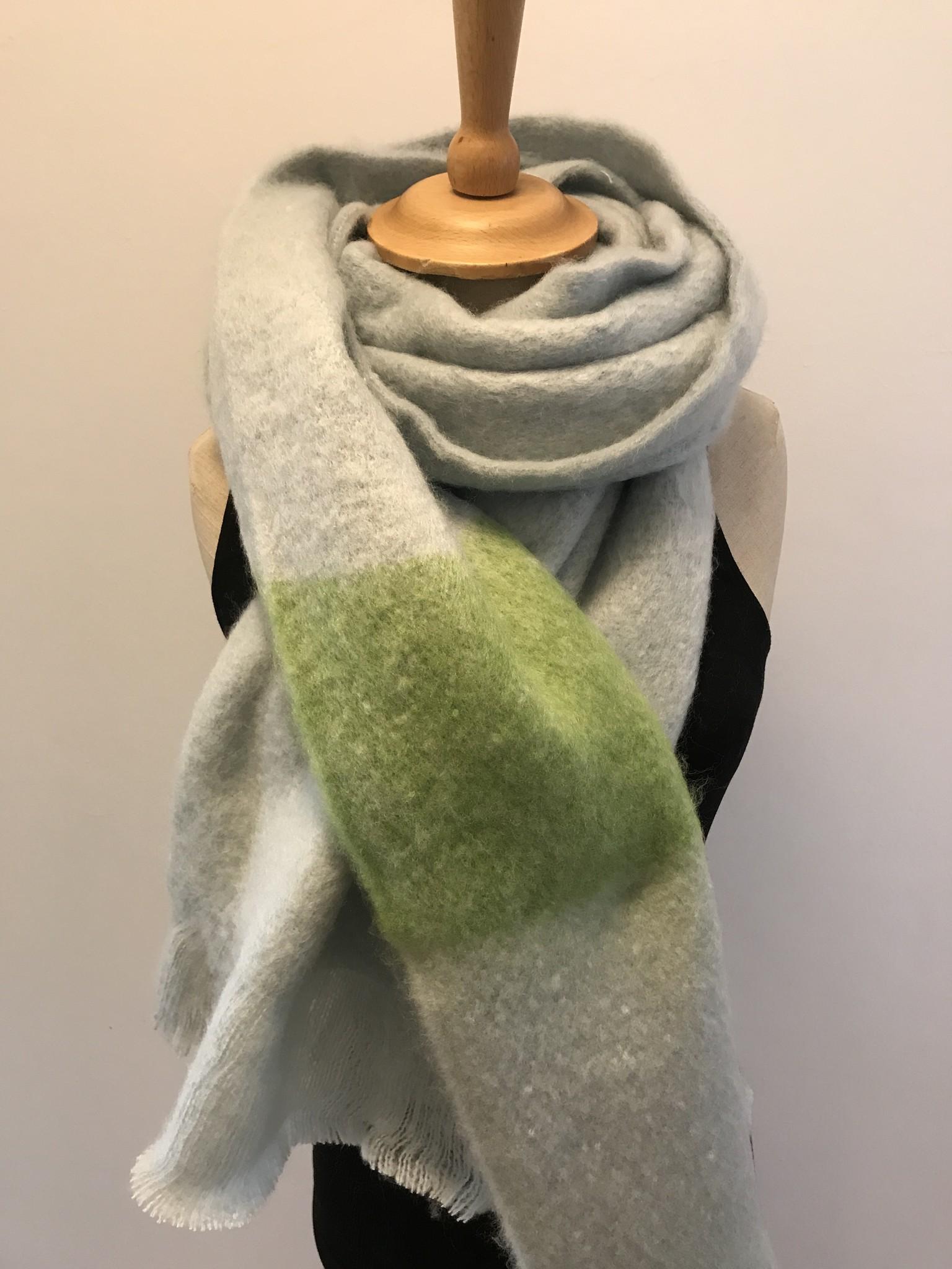 Sjaal Sportief Grasgroen