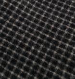 Grote Sjaal Zwart-Wir Geruit
