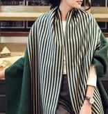 Sjaal Stripes Groen