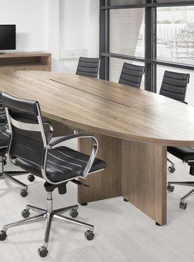ABC Kantoormeubelen Ovale vergadertafel 420X138CM