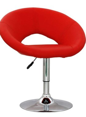 vidaXL Barkruk New York rood 48x60x70-86 cm