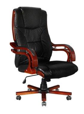 vidaXL Bureaustoel directie S280 zwart