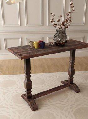 vidaXL Console tafel 100x40x75 cm massief acaciahout