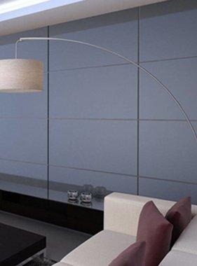 vidaXL Verstelbare booglamp crème 192 cm