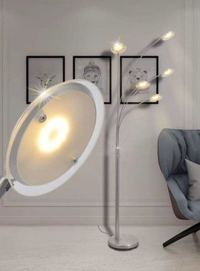 vidaXL led-vloerlamp dimbaar 25 W