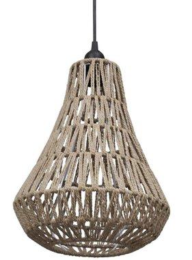 vidaXL Gevlochten hanglamp