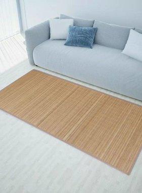 vidaXL Rechthoekige bamboe mat 200 x 300 cm (Bruin)