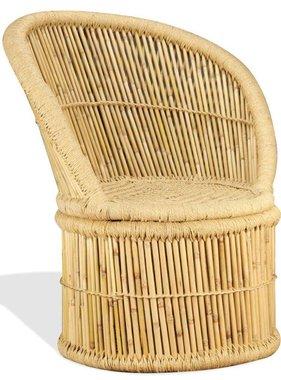 vidaXL Stoel bamboe 60x61x82 cm