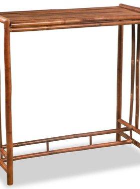 vidaXL Bartafel 100x45x100 cm bamboe bruin