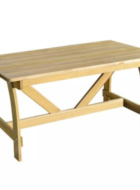 vidaXL Tuintafel FSC geïmpregneerd grenenhout