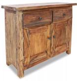 vidaXL Dressoir 75x30x65 cm massief gerecycled hout