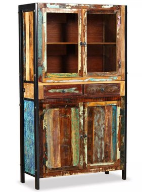 vidaXL Kast 100x40x175 cm massief gerecylced hout