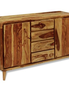 vidaXL Dressoir 140x40x87 cm sheesham hout