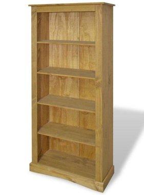 vidaXL Boekenkast grenenhout met 5 planken Corona-stijl 81x29x170 cm