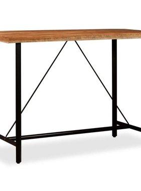 vidaXL Bartafel 150x70x107 cm massief sheesham hout