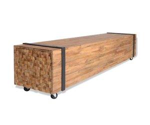 Tv Meubel Teakhout : Tv meubel kopen handige tips teak en wood