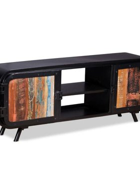 vidaXL Tv-meubel gerecycled hout 120x30x45 cm
