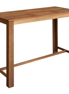 vidaXL Bartafel massief acacia hout 150x70x105 cm