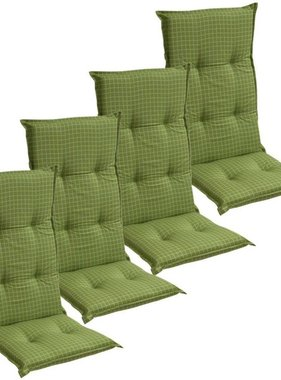 vidaXL Tuinkussens 4 st 117x49 cm groen
