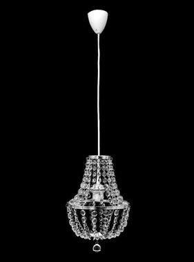 vidaXL Kristallen kroonluchter met design chroom
