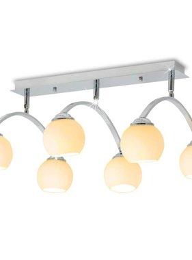 vidaXL Plafondlamp met 6 LED-lampen G9 240 W
