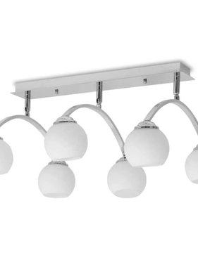 vidaXL Plafondlamp voor 6 G9 gloeilampen 240 W
