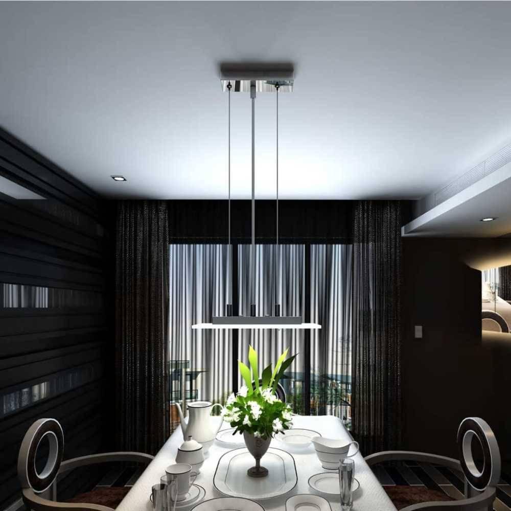 vidaXL Design Hanglamp LED 3 x 2 W vierkant