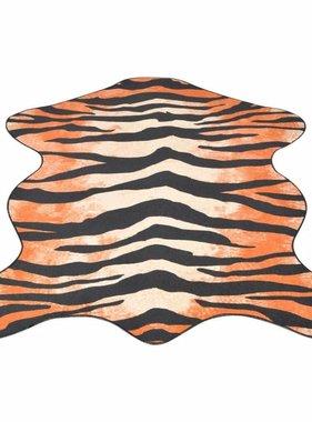 vidaXL Vloerkleed 70x110 cm tijgerprint