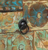 vidaXL Dressoir 140x40x80 cm massief gerecycled hout