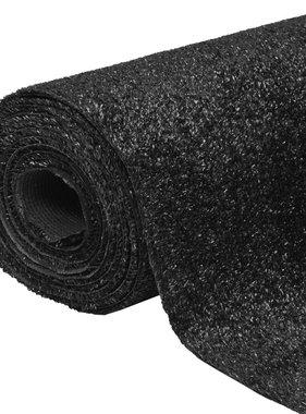 vidaXL Kunstgras 1x15 m/7-9 mm zwart