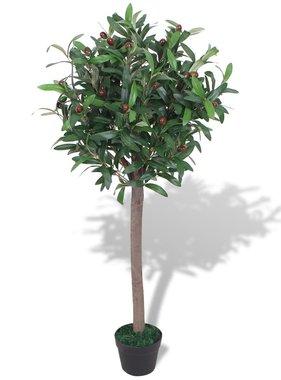 vidaXL Kunst laurierboom plant met pot 120 cm groen