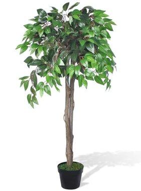 vidaXL Kunst vijgenboom met pot 110 cm