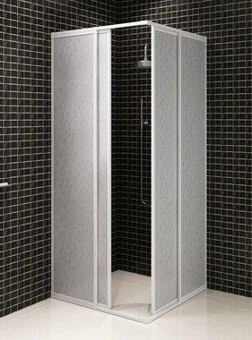vidaXL Douchewand rechthoekig 80 x 90 cm