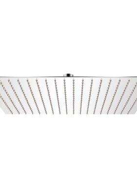 vidaXL Regendouchekop roestvrij staal 50x50 cm vierkant