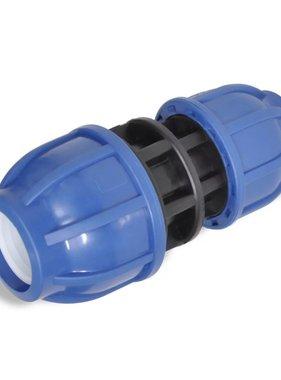 vidaXL PE slangkoppeling reductie koppelstuk 16 bar 32 > 20 mm (2 stuks)