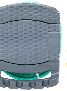 vidaXL Slanghaspel voor aan de wand met slang kunststof antraciet
