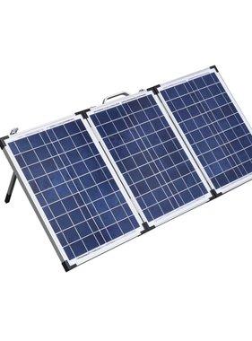 vidaXL Solarkoffer 18V / 60W met 12V laadregelaar