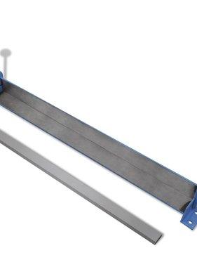 vidaXL Metalen plaat vouwmachine 760 mm