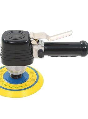 vidaXL Pneumatische vlakschuurmachine met handvat 150 mm