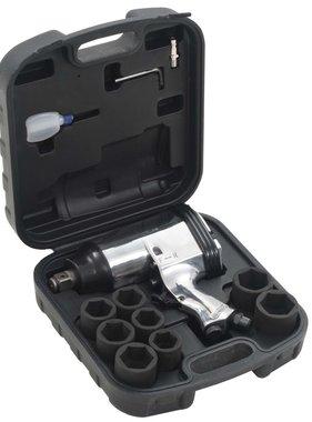 vidaXL Pneumatische slagmoersleutelset 680 Nm 3/4'' 12-delig