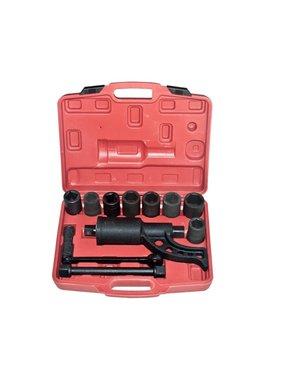 vidaXL Momentsleutel met 6 doppen 24-27-30-32-33-38 mm.