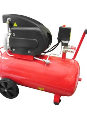 vidaXL Luchtcompressor van 50 liter 1500W 8 bar