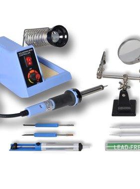 vidaXL Soldeerstation analoog met accessoires 48 W