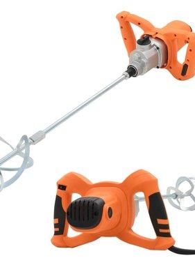 vidaXL Betonmixer elektrisch handmatig dubbele snelheden 1400 W