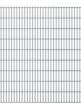 vidaXL Dubbelstaafmatten 2008 x 1830mm 4m Grijs 2 stuks