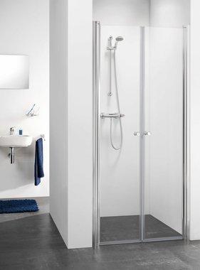 Get Wet by Sealskin pendeldeur C105 90cm chroom glas CH28090D310100